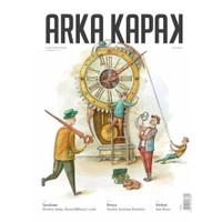 Arka Kapak Dergisi Sayı : 1 Ekim 2015 (Defter Hediyeli)