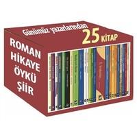 Roman-Hikaye-Öykü-Şiir Seti (25 Kitap)