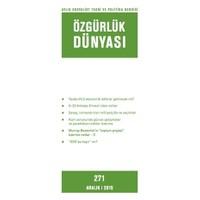 Özgürlük Dünyası Aylık Sosyalist Teori ve Politika Dergisi Sayı : 271 - Aralık 2015