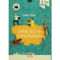 Çanakkale'nin Kahramanları 1 (5 Kitap Takım)