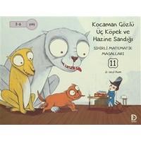 Kocaman Gözlü Üç Köpek ve Hazine Sandığı - Sihirli Matematik Masalları 11