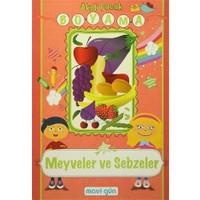 Akıllı Çocuk Boyama - Meyveler ve Sebzeler