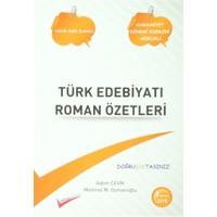 Türk Edebiyatı Roman Özetleri / Yazar Eser Eser Yazar Sözlüğü