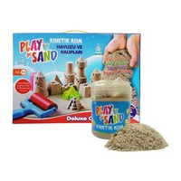 Play Sand Play Sand Kinetik Kum + Kum Havuzu + 16 Parça Kalıp