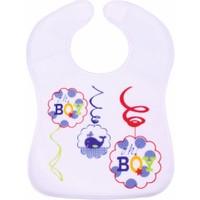 Sevi Bebe Cırtlı Havlu Önlük Lacivert