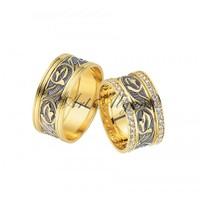 Artalyans Altın Elişi Alyans Art42-3548