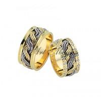 Artalyans Altın Elişi Alyans Art42-3586