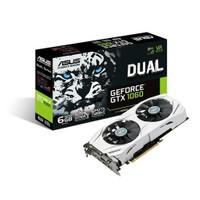 Asus DUAL Nvidia GeForce GTX 1060 6GB 192Bit GDDR5 (DX12) PCI-E 3.0 Ekran Kartı DUAL-GTX1060-6G