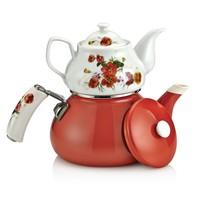 Schafer Teerose Porselen Çaydanlık 25856
