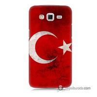 Teknomeg Samsung Galaxy Grand 2 Kapak Kılıf Türkiye Baskılı Silikon