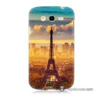 Teknomeg Samsung Galaxy Grand Duos Kapak Kılıf Eyfel Ve Paris Baskılı Silikon