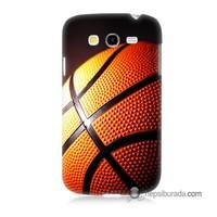 Teknomeg Samsung Galaxy Grand Neo Kapak Kılıf Basketbol Baskılı Silikon
