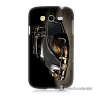 Teknomeg Samsung Galaxy Grand Neo Kapak Kılıf Vosvos Baskılı Silikon