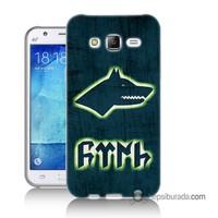 Teknomeg Samsung Galaxy J1 Kapak Kılıf Göktürk Baskılı Silikon