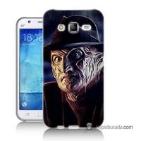 Teknomeg Samsung Galaxy J1 Kapak Kılıf Fredi Baskılı Silikon