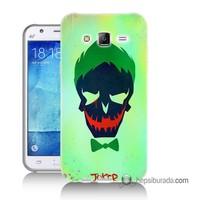 Teknomeg Samsung Galaxy J1 Ace Kapak Kılıf Joker Baskılı Silikon