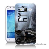 Teknomeg Samsung Galaxy J5 Kapak Kılıf Türk Baskılı Silikon