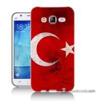 Teknomeg Samsung Galaxy J5 Kapak Kılıf Türkiye Baskılı Silikon