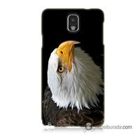 Teknomeg Samsung Galaxy Note 3 Kapak Kılıf Eagle Baskılı Silikon