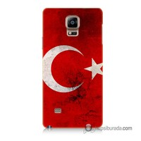 Teknomeg Samsung Galaxy Note 4 Kapak Kılıf Türkiye Baskılı Silikon