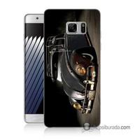 Teknomeg Samsung Galaxy Note 7 Kapak Kılıf Vosvos Baskılı Silikon
