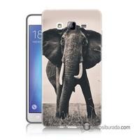 Teknomeg Samsung Galaxy On 5 Kılıf Kapak Fil Baskılı Silikon