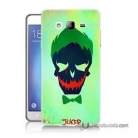 Teknomeg Samsung Galaxy On 5 Kapak Kılıf Joker Baskılı Silikon