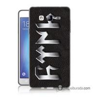 Teknomeg Samsung Galaxy On 7 Kapak Kılıf Göktürkçe Baskılı Silikon