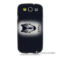 Teknomeg Samsung Galaxy S3 Kapak Kılıf Kurt Baskılı Silikon