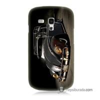 Teknomeg Samsung Galaxy S3 Mini Kapak Kılıf Vosvos Baskılı Silikon