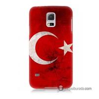 Teknomeg Samsung Galaxy S5 Kapak Kılıf Türkiye Baskılı Silikon
