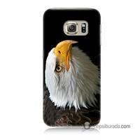 Teknomeg Samsung Galaxy S6 Kapak Kılıf Eagle Baskılı Silikon