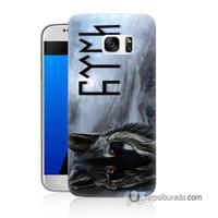 Teknomeg Samsung Galaxy S7 Kapak Kılıf Türk Baskılı Silikon