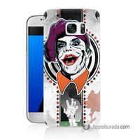 Teknomeg Samsung Galaxy S7 Kapak Kılıf Joker 21 Baskılı Silikon