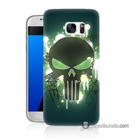 Teknomeg Samsung Galaxy S7 Kapak Kılıf Punisher Baskılı Silikon