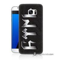 Teknomeg Samsung Galaxy S7 Edge Kapak Kılıf Göktürkçe Baskılı Silikon