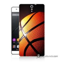 Teknomeg Sony Xperia C5 Kapak Kılıf Basketbol Baskılı Silikon