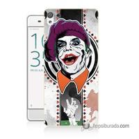 Teknomeg Sony Xperia Xa Kapak Kılıf Joker 21 Baskılı Silikon