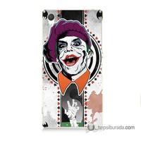 Teknomeg Sony Xperia Z2 Kapak Kılıf Joker 21 Baskılı Silikon