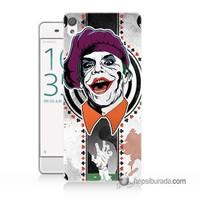 Teknomeg Sony Xperia Z5 Mini Kapak Kılıf Joker 21 Baskılı Silikon