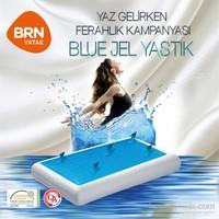 Brn Visco Blue Jel Yastık