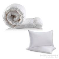 Alla Turca Çift Kişilik Silikon Yorgan + 2 adet Yastık Set