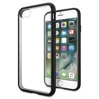Spigen Apple iPhone 8 - iPhone 7 Kılıf Ultra Hybrid Black- 042CS20446