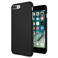 Spigen Apple iPhone 7 Plus Kılıf Thin Fit Ultra İnce Black - 043CS20471