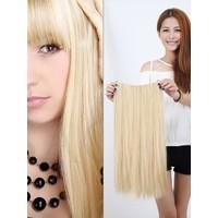 Hairens® Yarım Ay Gerçek Doğal Çıt Çıt Saç Platin Sarı 150gr.