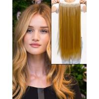 Hairens® Yarım Ay Gerçek Doğal Çıt Çıt Saç Sıcak Sarı 150gr.