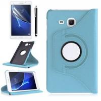Kılıfland Samsung Galaxy Tab A T280 Kılıf 360 Standlı Turkuaz+Film+Kalem