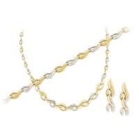 Melis Gold Altın Düğün Nişan Takı Seti Ds00048