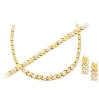 Melis Gold Altın Düğün Nişan Takı Seti Ds00051