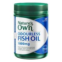 Omega 3 Kokusuz Balık Yağı Hapı Natures Own Odourless Fish Oil